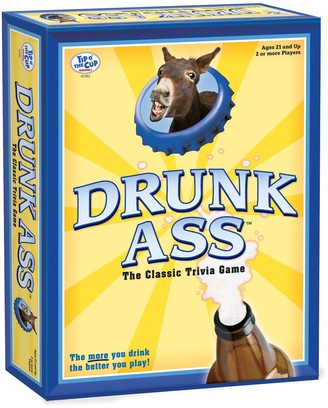 University Games Drunk Ass Classic Trivia Game