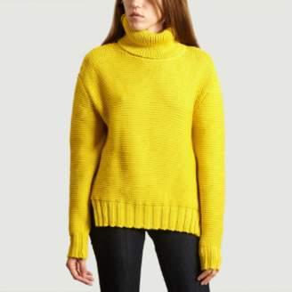 Heimstone Yellow Wool Bobbi Turtleneck Sweater - s | wool | yellow - Yellow/Yellow
