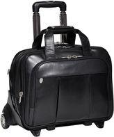 McKlein McKleinUSA Damen 17 Leather Detachable -Wheeled Laptop Briefcase