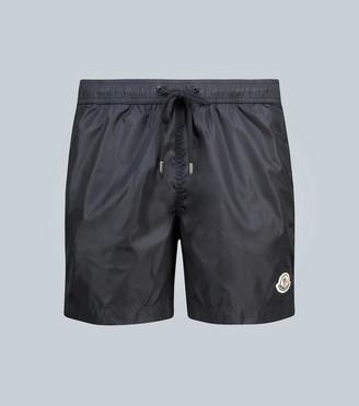 Moncler Swim shorts with logo