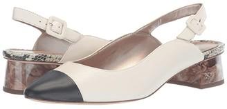 Sam Edelman Sadira (Modern Ivory/Black Butter Nappa Leather) Women's Shoes