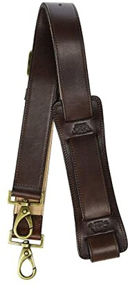 Bosca Dolce All Leather Shoulder Strap (Dark Brown) Briefcase Bags