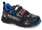 Stride Rite Boy's Vroomz Light-Up Police Car Sneaker