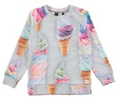 Molo Toddler Girl's Marina Ice Cream Sweatshirt