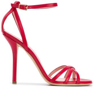 Philosophy di Lorenzo Serafini Cut-Out Detail Stiletto Sandals