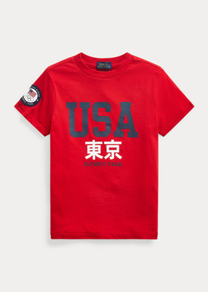 Ralph Lauren Team USA One-Year-Out Cotton Tee