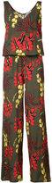 P.A.R.O.S.H. floral sleeveless jumpsuit - women - Silk - 40