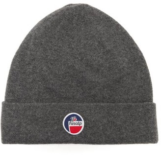 Fusalp Styx Logo-patch Wool-blend Beanie - Grey