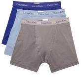 Calvin Klein Underwear Stretch Cotton Boxer Briefs (3 Pack)