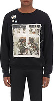 Enfants Riches Deprimes Men's Cotton Appliquéd Sweatshirt-BLACK