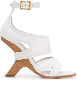 Alexander McQueen No. 13 wedge sandals