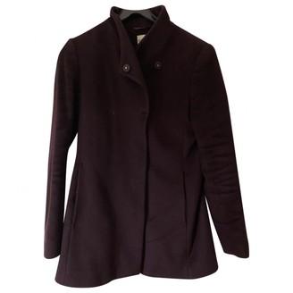 Reiss Purple Coat for Women