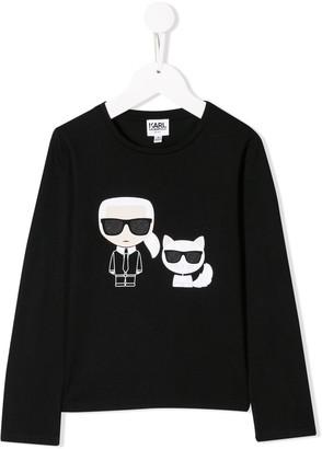 Karl Lagerfeld Paris & Choupette sweater