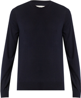 Maison Margiela Crew-neck fine-knit sweater