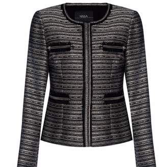 Nissa Office Jacket with Front Zippers