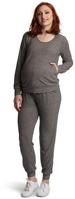 Everly Grey Whitney Maternity/Nursing Two-Piece Set