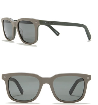 Ermenegildo Zegna Square 51mm Sunglasses