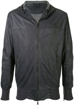 Giorgio Brato Zipped Hooded Jacket