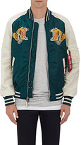 Alpha Industries Men's MA-1 Reversible Flight Jacket-NAVY