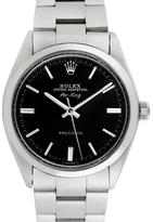 Rolex Vintage Stainless Steel Airking Watch, 34mm