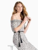 Lucky Brand Off Shoulder Smock Dress