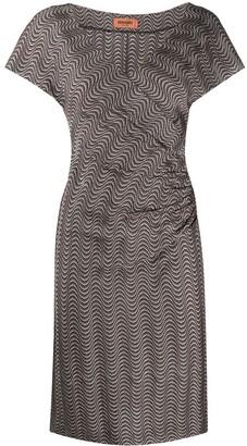 Missoni Wave Embroidery Midi Dress