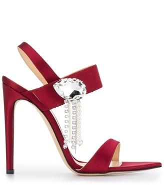 Chloé Gosselin embellished pumps