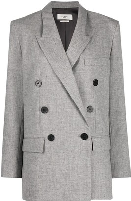 Etoile Isabel Marant Fitted Double Breasted Blazer