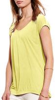 Lauren Ralph Lauren Jersey Scoopneck T-Shirt