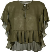 Rachel Comey ruffled crop top
