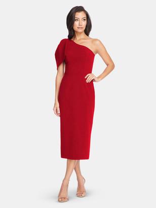 Dress the Population Tiffany Dress - Garnet