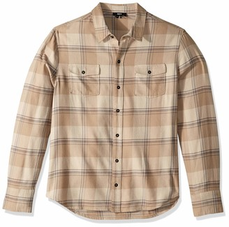 Paige Men's Everett Long Sleeve Plaid Shirt