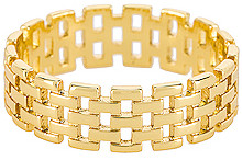 Shashi Linked Band Ring