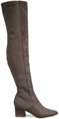 Steve Madden Bren Micro Block Heel Over-The-Knee Boots
