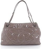 Chanel Pre-owned: Timeless Cc Soft Tote Quilted Patent Large.