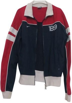 Nike Blue Cotton Jackets