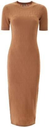 Fendi Monogram Midi Dress