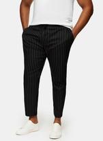 TopmanTopman BIG & TALL Black and White Stretch Skinny Trousers*