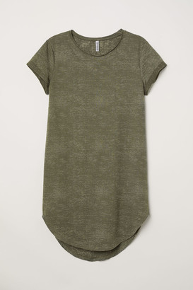 H&M Sweatshirt Dress - Green