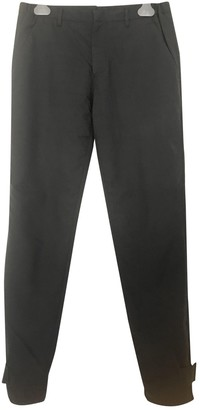Prada Green Wool Trousers