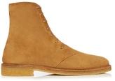 Saint Laurent Nevada Suede Ankle Boots