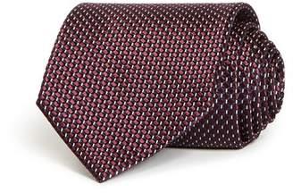 Ermenegildo Zegna Geometric Silk Classic Tie
