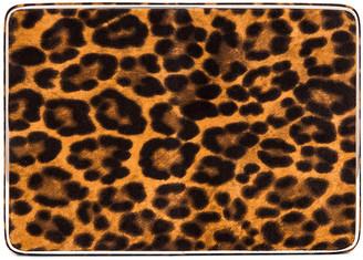 Hunting Season Square Compact Clutch in Leopard | FWRD