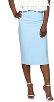 Lucy Paris Blue Pencil Skirt