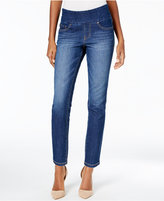 Jag Amelia Ankle Skinny Pull-On Jeans