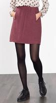 Esprit OUTLET textured skirt in a wool blend
