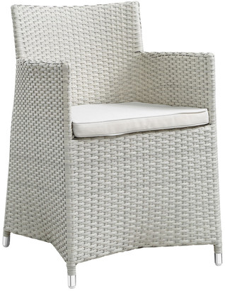 Modway Outdoor Modway Junction Dining Outdoor Patio Wicker Armchair