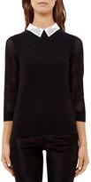 Ted Baker Embellished-Collar Sweater