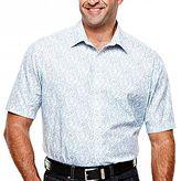 Claiborne Fain Paisley Woven Shirt – Big & Tall