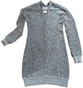 Maison Margiela Grey Wool Dress